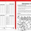 Ks2 Christmas Worksheets