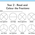 Fraction Worksheets Year 2
