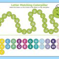 Matching Capital Letters To Lowercase Letters Worksheets