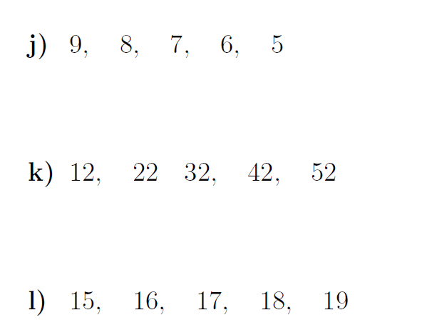 The Nth Term Of An Arithmetic Sequence Worksheets (with Solutions
