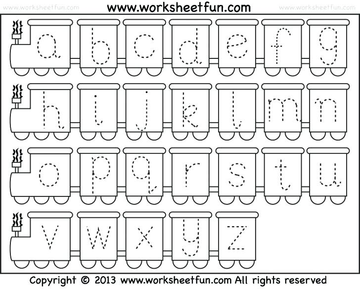 Tracing Worksheets Printable Coloring Page For Kids Abc 123