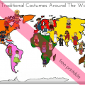 Around The World Worksheets For Kids