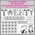 Free Math Worksheets For Grade 1 Printable