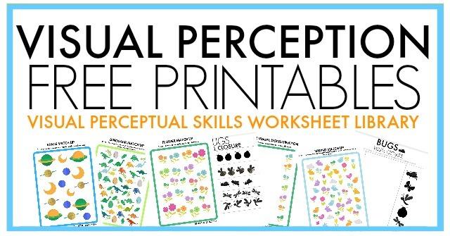 Free Visual Perception Packet