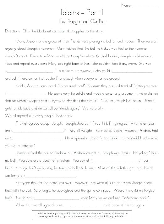 Weather Idioms Worksheets Printable Lessons And