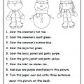 Science Kindergarten Worksheets